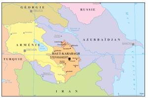La Carte du Haut-Karabagh