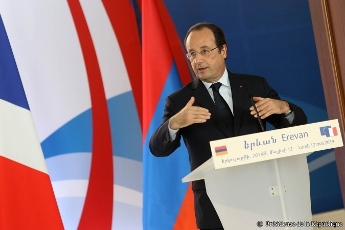 François Hollande à Erevan (crédit Elysee.fr)