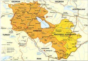 armenia-karabakh-map