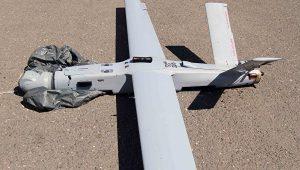 drone azerbaïdjanais abattu par les forces de défense karabaghiote
