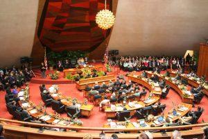 La chambre des Représentants d'Hawaï