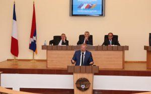 François Pupponi, député-maire (PS) de Sarcelles, avait participé en 2015 aux journées françaises organisées au Haut-Karabagh.