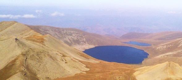 Le Lac Noir (Sev Lidj) en Arménie